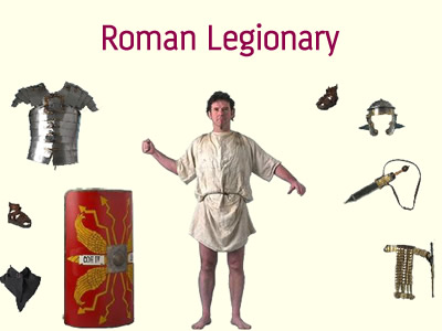 Roman Legionary games and puzzles