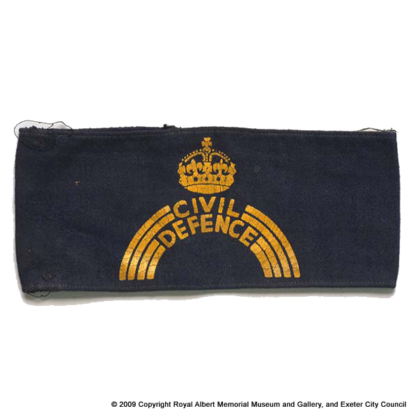 Civil Defence arm band