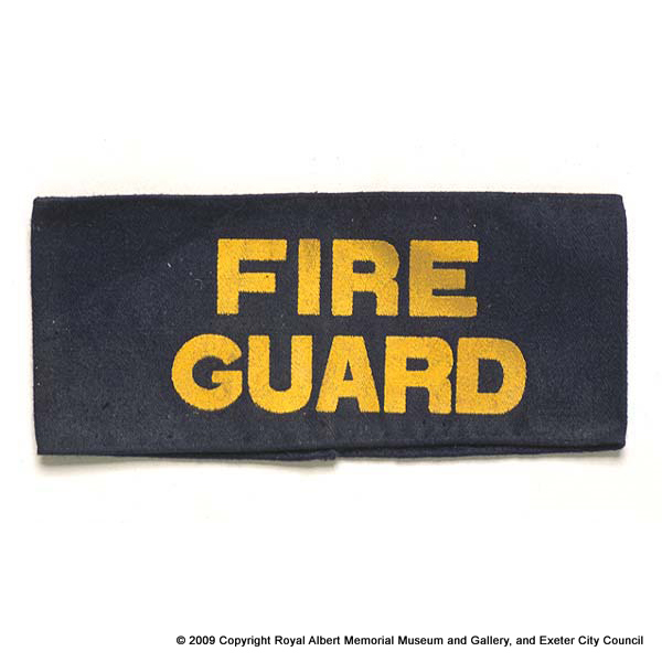 Fire Guard arm band