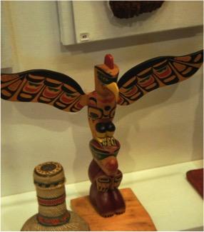 Bird on Totem Pole