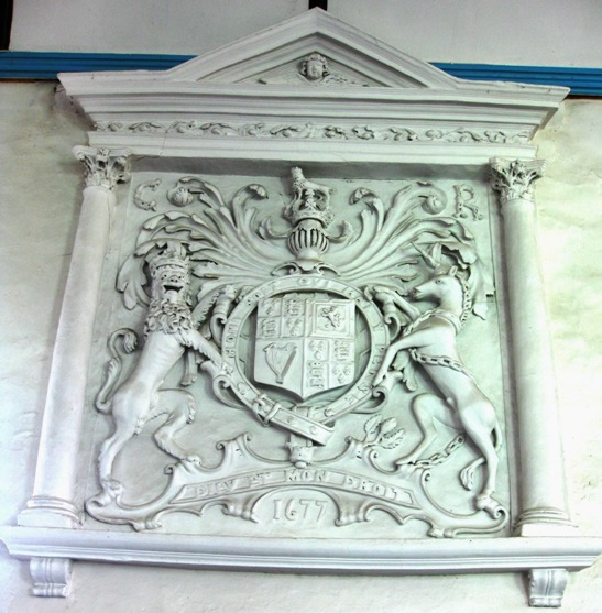 Frithelstock: Church of St Mary and St Gregory - Coat of arms