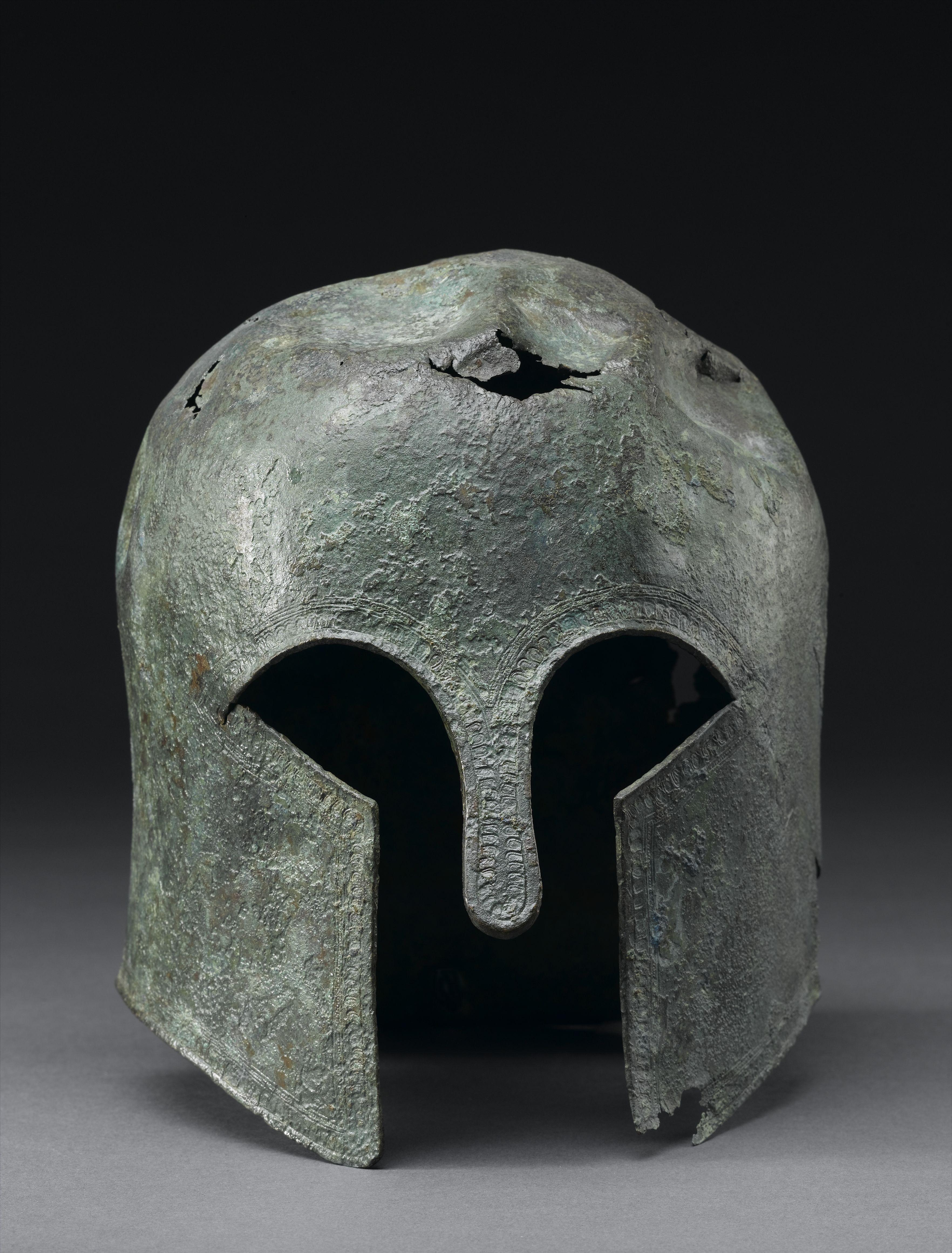 Corinthian helmet, Ancient Worlds gallery