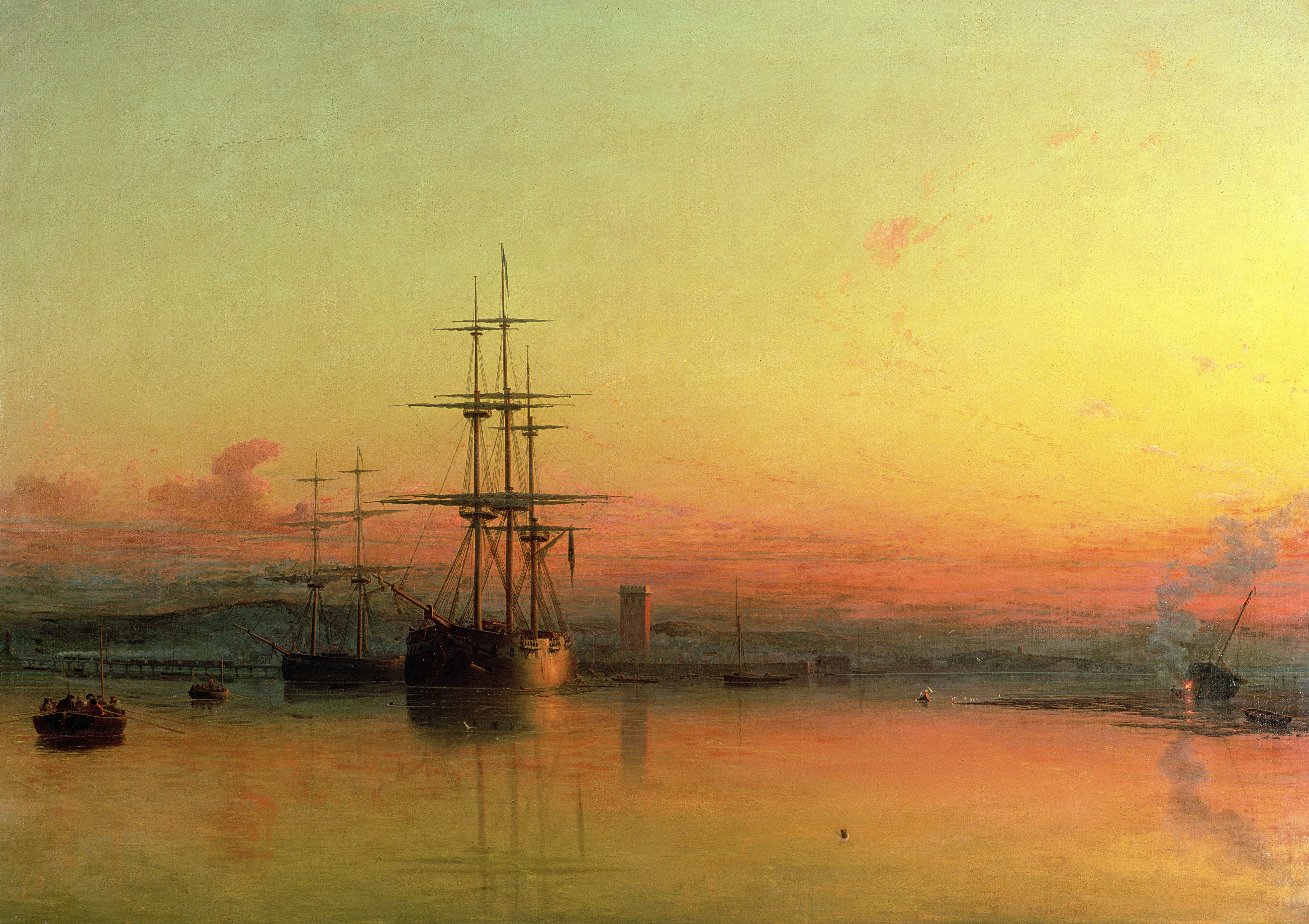 Dead Calm, Sunset at the Bight of Exmouth, Making History gallery