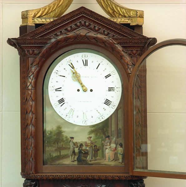 Gallery 10 - Case Histories: Dutch Organ Clock