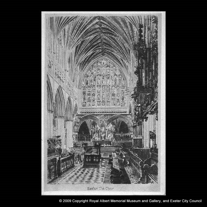 Exeter Cathedral – the Choir