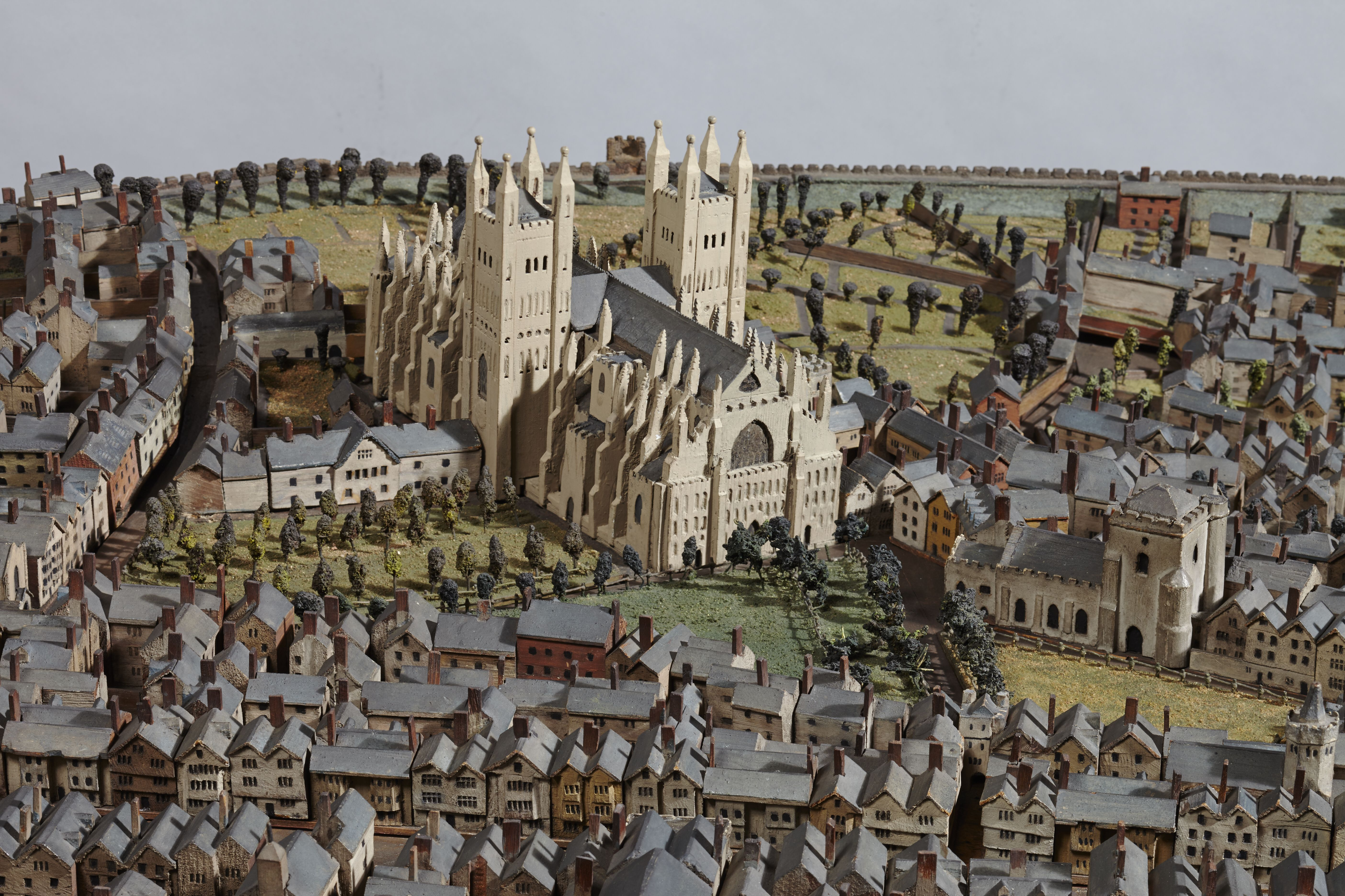 Hedgeland's model of Exeter, Making History gallery