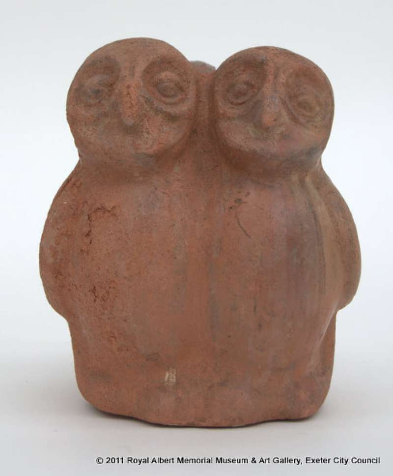 Lamp Filler with two Owls