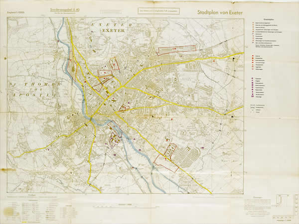Gallery 3 and 4: Making History - Luftwaffe Map