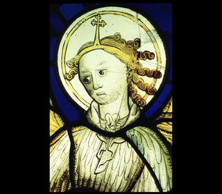 Protection of Buildings - Stained Glass Angel