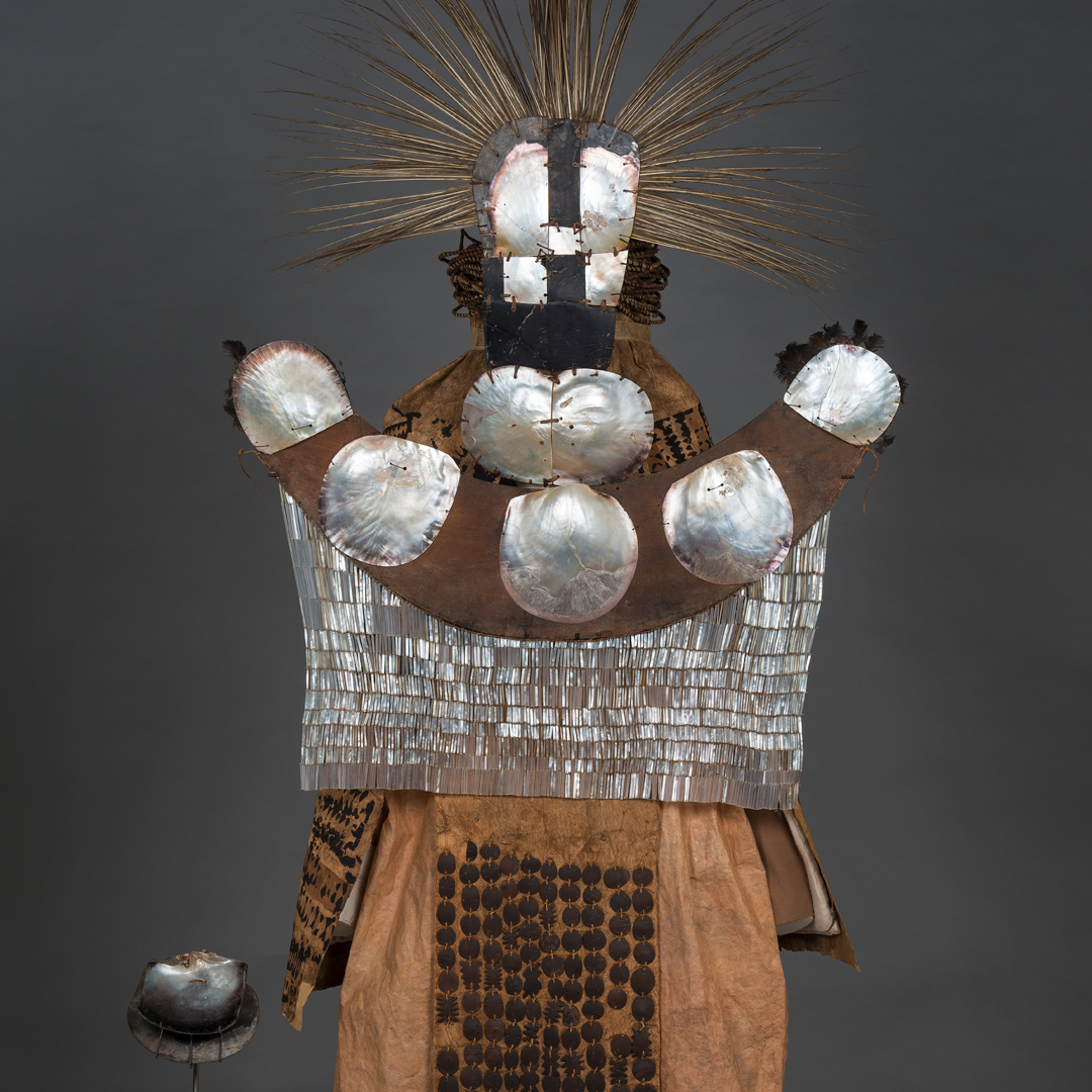 Tahitian Mourner's costume Wold Cultures gallery