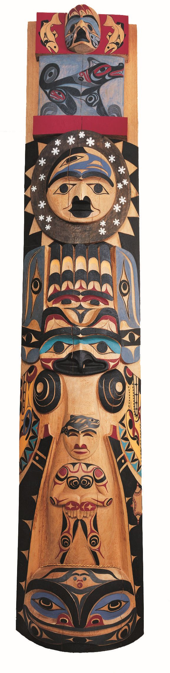 Totem pole, World Cultures gallery