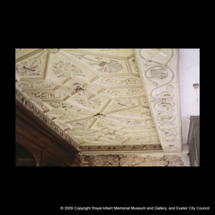 Plaster ceiling at 38 North Street
