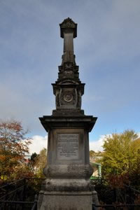 Volunteer Force Memorial – Northernhay Gardens