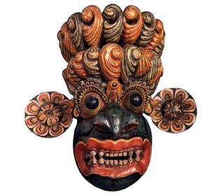 Interacting with the Spirit World - Cobra Demon Mask