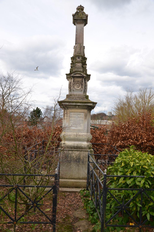 Volunteer Force Memorial – Northernhay Gardens